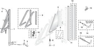 Vent Window and Components