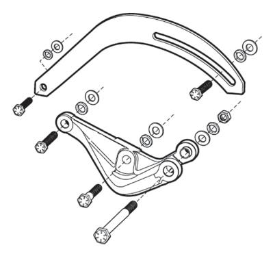 Alternator Bracket Kit
