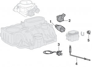 Central Sequential Fuel Injection Components (Central SFI) - 6 Cylinder
