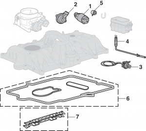 Central Sequential Fuel Injection Components (Central SFI) - V8
