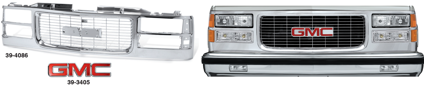 All Chrome Grilles for GMC