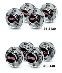 2 Wheel Drive Rally Wheel Hubcaps