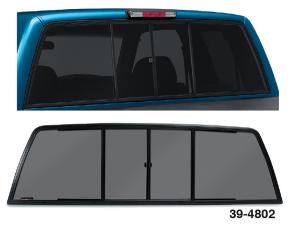 Sliding Rear Window … For Great Airflow