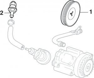 Air Injection Reactor (A.I.R.) Pump Check Valve