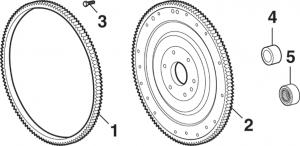 Ring Gear, Flywheel and Flexplate