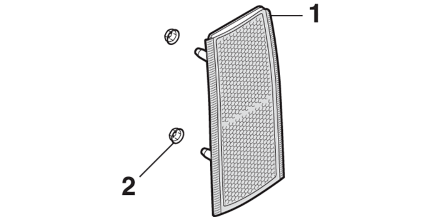 Front Reflector