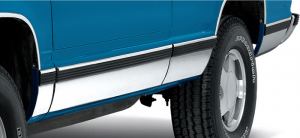 Stainless Steel Rocker Panel Trim Covers Up Rust and Scratches