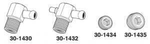 Manifold Vacuum Fittings and Plugs