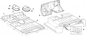Floor Pans and Transmission Covers