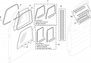 Door Glass Assembly
