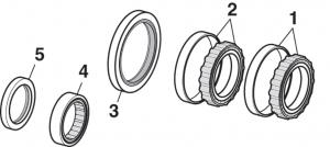 Rear Wheel Bearings and Seals
