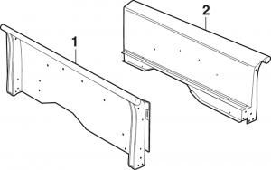 Custom Stepside Bed Sides