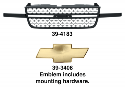 Grille - Models with SS Package