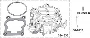 Stage 2 Quadrajet Carburetors