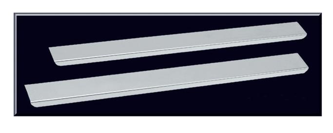 Stainless Steel Threshold Plate Set