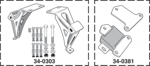 Engine Mount Perches and Components