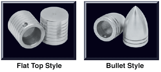 Billet Wiper Post Cover Sets