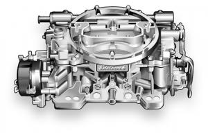 600 CFM Performer Series Carburetor and Fuel Lines