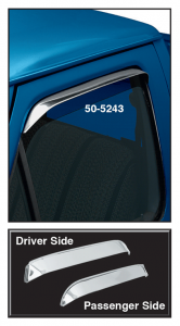 Window Visor Set ... Lets Fresh Air In and Keeps Rain Out