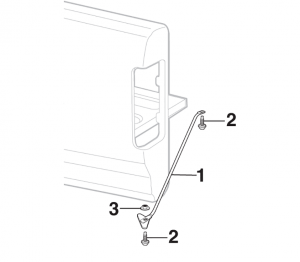 Bed Panel Brace