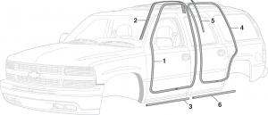 SUV Door Seals