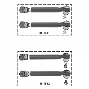 Heavy-Duty Tie Rod Sets