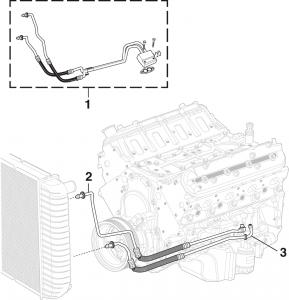 Engine Oil Cooler Hose Assembly
