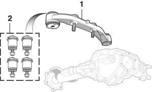 Front Differential Mount-4WD
