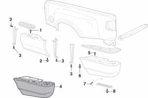 Stepside Step Components