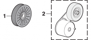 Idler Pulleys and Tensioners