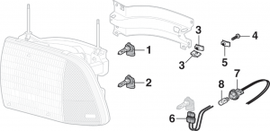 Headlight Components - Composite