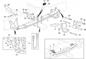 Rear Suspension - 4 Wheel Drive F250