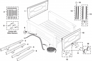 Stepside Bed Components