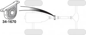 Driveshaft Support Bearing