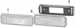 Dually Fender Marker Lights