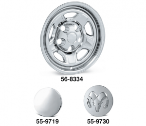 Chrome Wheel Covers and Center Caps