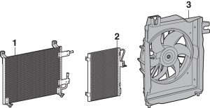 Air Conditioning Condenser and Components