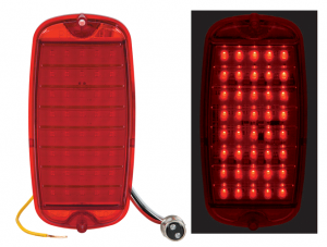 LED Sequential Tail Light Lens
