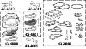 Carburetor and Repair Kits