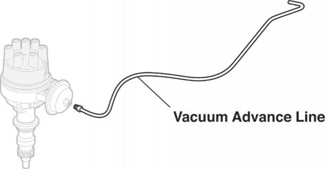 Pre-Bent Vacuum Advance Lines