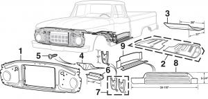 Steel Inner Body Panels