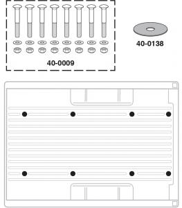 Styleside Bed Mount Hardware