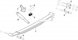 Rear Suspension - 2 Wheel Drive