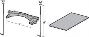 Battery Hold Down Assembly and Battery Mat