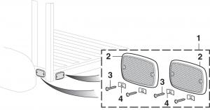 Stepside Rear Body Reflector