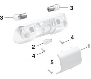 Dome and Map Light Components