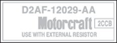 Ignition Coil Decals