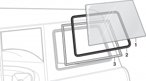Body Side Window Glass and Components