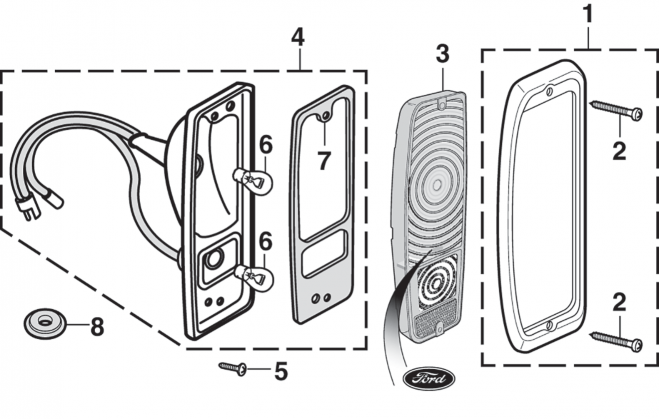 Tail Light Components