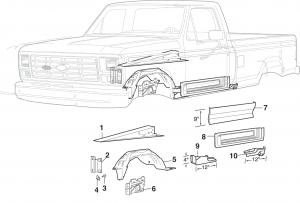 Inner Steel Body Parts